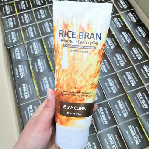 gel-tay-te-bao-chet-gao-3w-clinic-rice-bran-moisture-peeling-gel-180ml