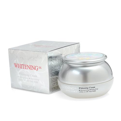 Kem Dưỡng Trắng Da Bergamo Whitening EX Cream Chính Hãng Hàn Quốc