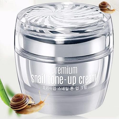 Kem Dưỡng Trắng Da Cao Cấp Ốc Sên Goodal Premium Snail Tone Up Cream Hàn Quốc