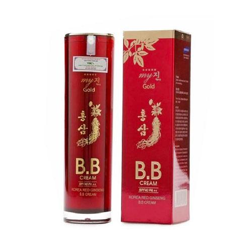 Kem Nền BB Cream Hồng Sâm Đỏ My Gold Hàn Quốc Chính Hãng