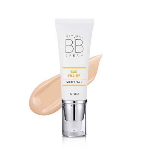 Kem Nền Natural BB Cream Egg Fill Up APIEU SPF35/PA++