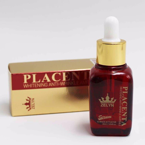 Serum Nhau Thai Cừu Placenta Whitening Anti-Wrinkle Ampoule 30ml