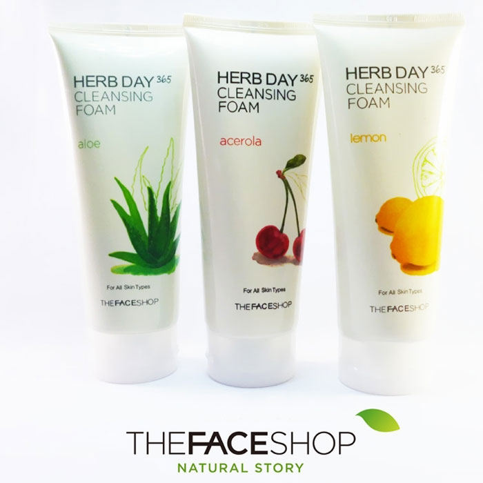 sua-rua-mat-the-face-shop-herb-day-365-cleansing-foam