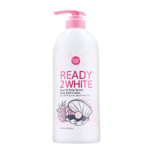 Sữa Tắm Trắng Da - Cathy Doll Ready 2 White Pearl And Rose Serum Body Bath Cream Thái Lan
