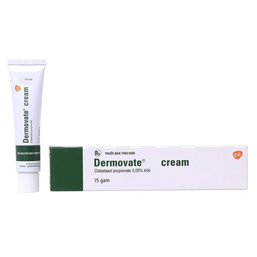 Thuốc Trị Viêm Da Dermovate Cream 15g Thái Lan