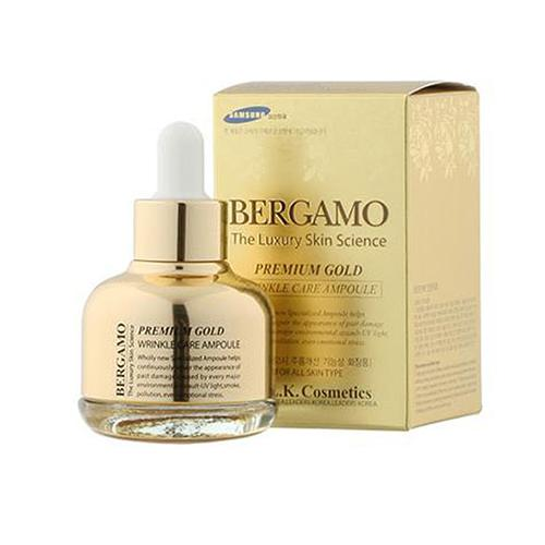 Tinh chất Bergamo The Luxury Skin Science Premium Gold 30ml
