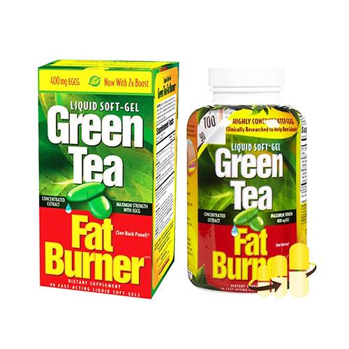 Viên Uống Giảm Cân Trà Xanh Green Tea Fat Burner 200 Viên Mỹ