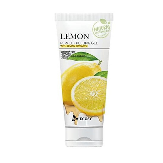 Gel Tẩy Tế Bào Chết Ecosy Lemon Perfect Peeling Gel 180G