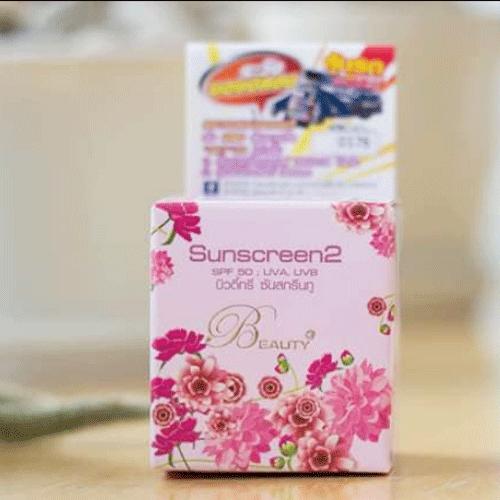 Kem Chống Nắng Sunscreen2 Beauty 5g Thái Lan