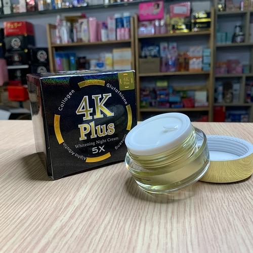 Kem Dưỡng Trắng Da Nhân Sâm 4k Plus Whitening Night Cream