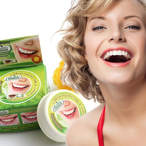 Kem làm Trắng Răng Herbal Clove Toothpaste Premium Quality nhanh chóng