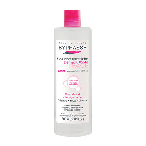 Nước Tẩy Trang Byphasse Solution Micellaire Face Make-Up Remover 500ml