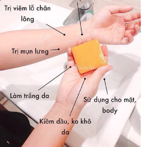 Soap Cam Nghệ Thái Lan