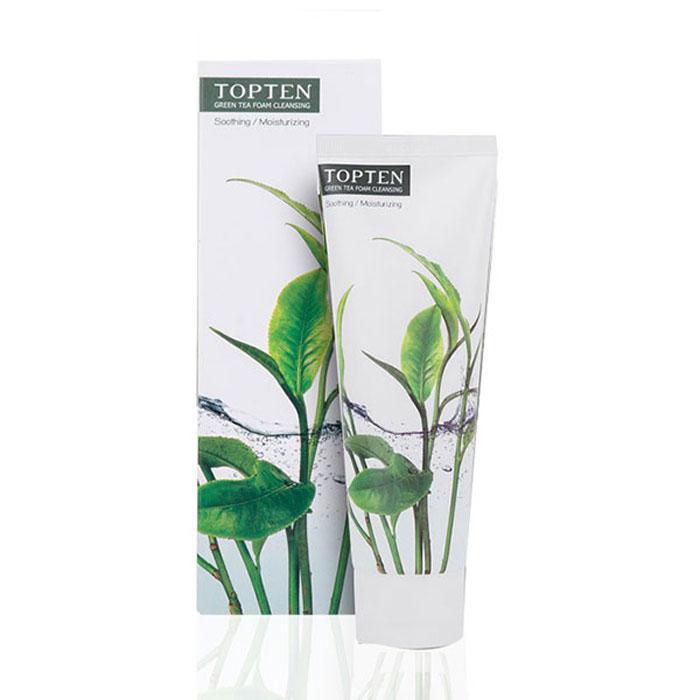 Sữa Rửa Mặt Ecotop Green Tea Foam Cleansing 120ml