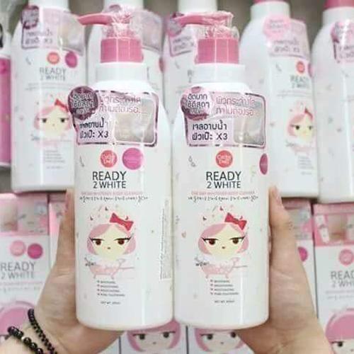 Sữa Tắm Trắng Da Cathy Doll Ready 2 White One Day Whitener Thái Lan