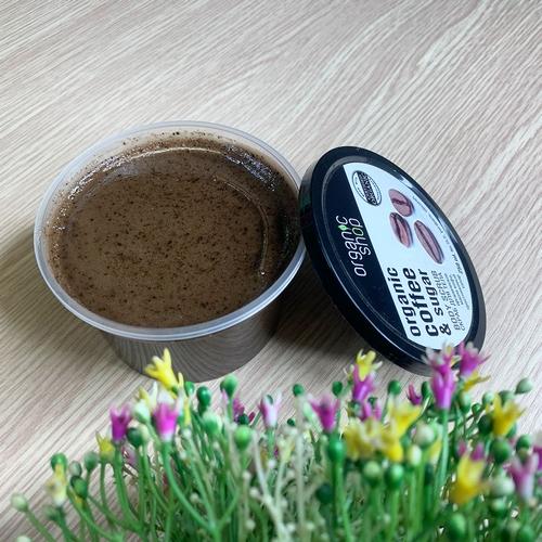 Tẩy Da Chết Toàn Thân Organic Coffee And Sugar Body Scrub Nga
