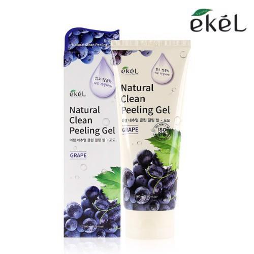 Tẩy Tế Bào Chết Chiết Xuất Từ Nho Ekel Natural Clean Peeling Gel Grape 180ML