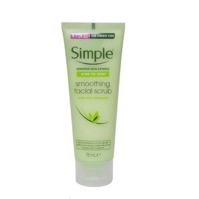 Tẩy Tế Bào Chết Simple Kind To Skin Smoothing Facial Scrub 75ml