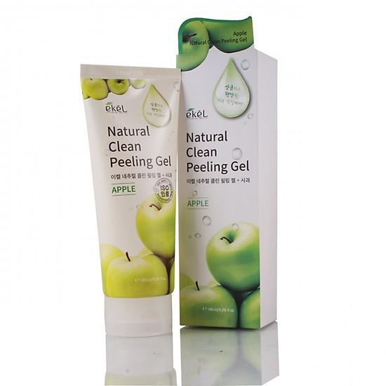 Tẩy Tế Bào Chết Chiết Xuất Từ Táo Ekel Natural Clean Peeling Gel Apple 180ML