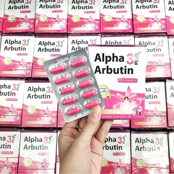 Viên Kích Trắng Alpha Arbutin 3 Plus Thái Lan