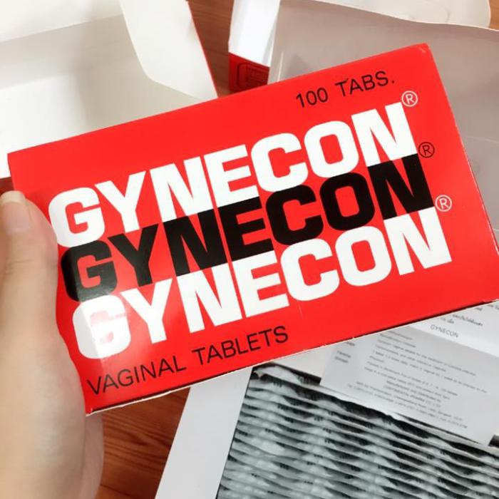 Viên Thuốc Đặt Phụ Khoa Gynecon Thái Lan