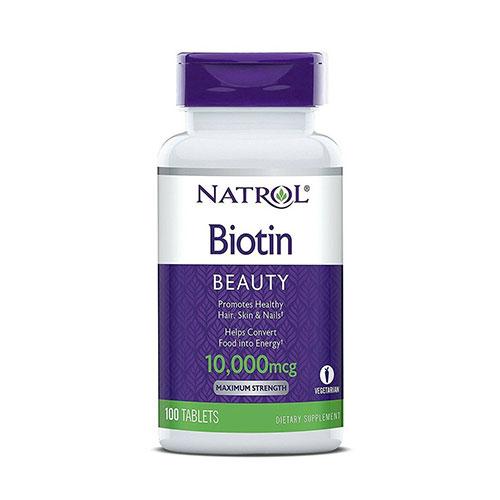 Viên Uống Mọc Tóc Natrol Biotin 10000mcg