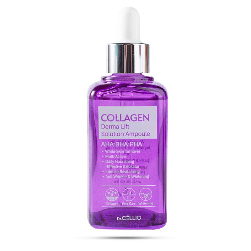 Serum Tinh Chất Collagen Derma Lift Solution Ampoule Dr Cellio(50ml)