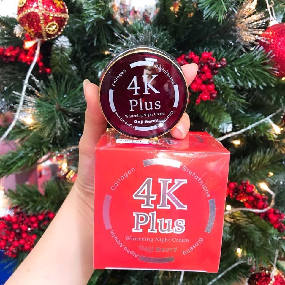Kem Trị Mụn 4k Plus Acne Goji Berry Thái Lan