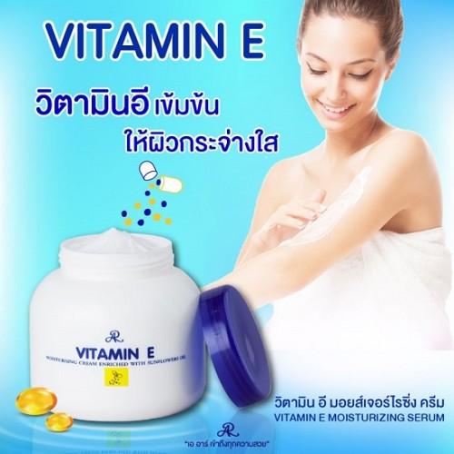 Dưỡng Thể Bổ Sung Vitamin E Aron Thái Lan 300g