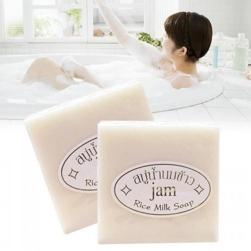 Xà Phòng Tắm Trắng Cám Gạo Rice Milk Soap Thái Lan