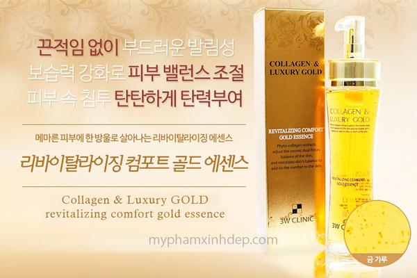 Tinh Chất Trắng Da Collagen Luxury Gold Hàn Quốc