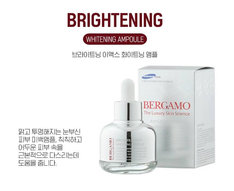 Serum Bergamo Brightening Ex Whitening 30ml