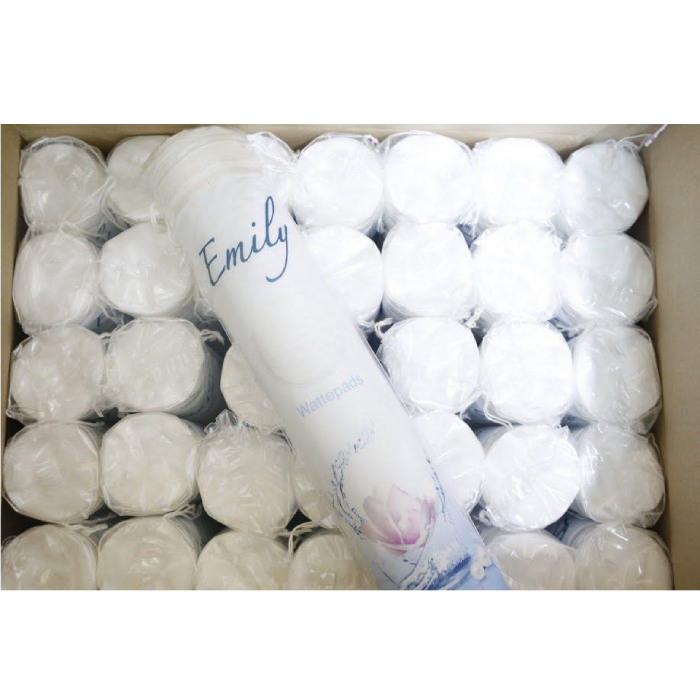 Bông Tẩy Trang Emily Wattepads 100% Cotton Đức