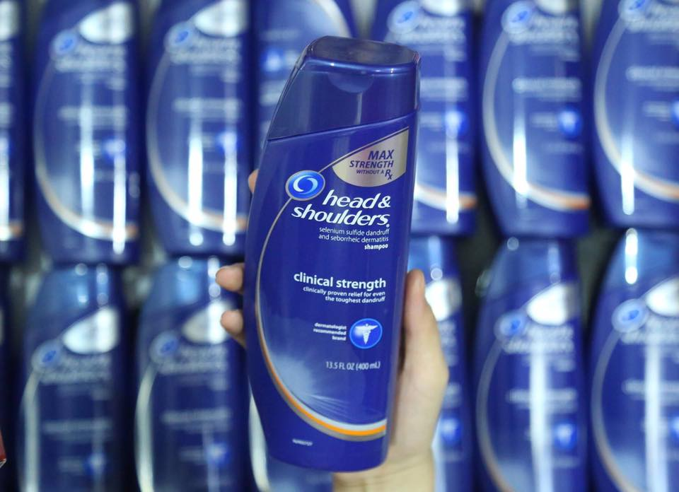 Dầu Gội Thuốc Đặc Trị Gàu Head And Shoulders Clinical Strength Shampoo