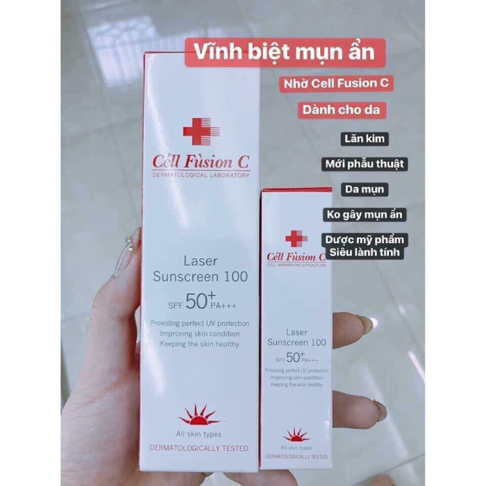 Kem Chống Nắng Cell Fusion C