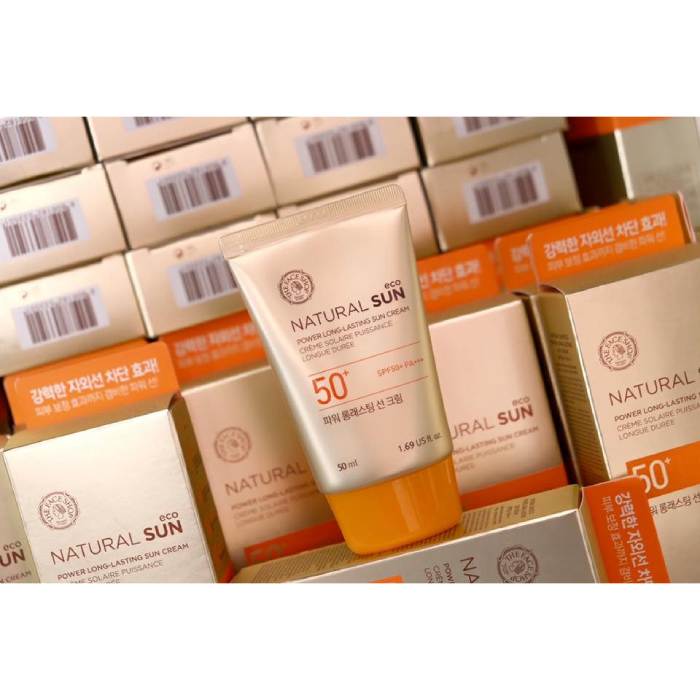 Kem Chống Nắng Natural Sun Eco Power Long Lasting Sun Cream SPF50 Plus PA