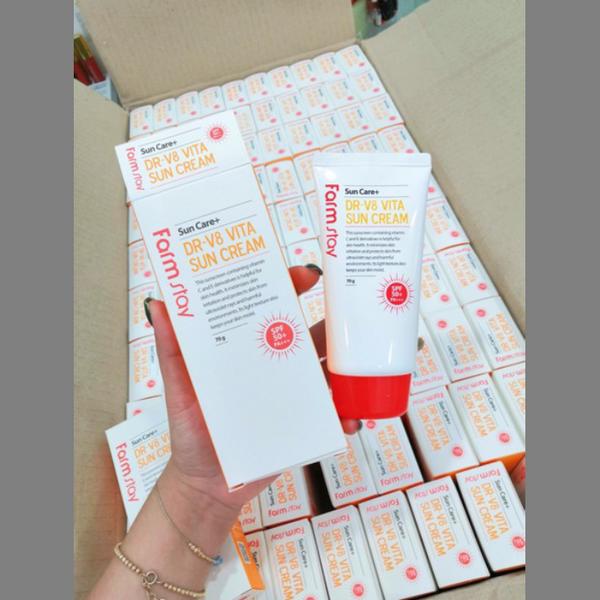 Kem Chống Nắng Farm Stay DR-V8 Vita Sun Cream