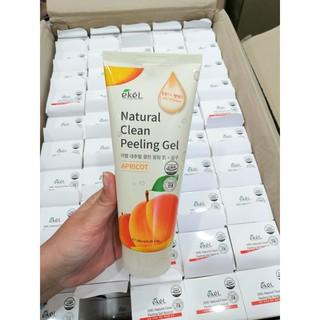 Gel Tẩy Tế Bào Chết Chiết Xuất Mơ Ekel Nature Clean Peeling Gel 180ml
