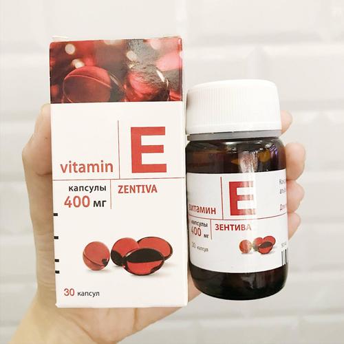Viên Uống Vitamin E Zentiva Đẹp Da Ngăn Ngừa Lão Hóa
